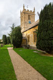 Old church in Cotswold district of England Stock Photo