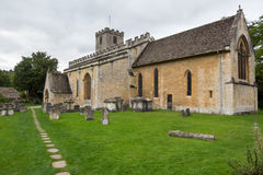 Old Church in Cotswold district of England Stock Photos