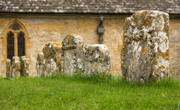 Old Church in Cotswold district of England Stock Photography