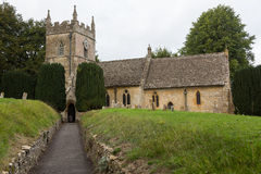 Old Church in Cotswold district of England Royalty Free Stock Photo