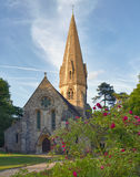 Old Church in Cotswolds, UK. Old Church in Cotswolds, Leafield, United Kingdom Royalty Free Stock Photos