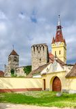 Old Church in Cristian, Brasov,Romania Stock Photo
