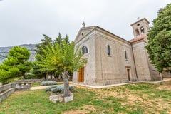Old Church in Croatia Stock Photography