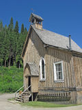 Old Church - Dated 1869. An old Anglican Church of Canada found in Barkerville, British Columbia royalty free stock photo