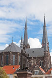 Old church in Delft Royalty Free Stock Image