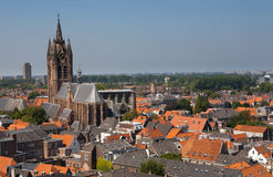 Old Church Delft City The Netherlands Stock Photography