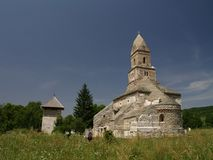 The old church of Densus Royalty Free Stock Photos