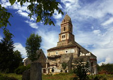 Old church. Densus, church from 14th Century Stock Images