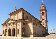 Old church in Diano D'Alba, Italy. Royalty Free Stock Photography