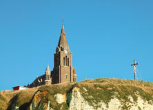 Old church in dieppe Royalty Free Stock Photography