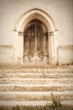 Old church door Royalty Free Stock Photography