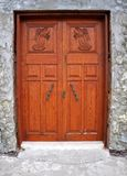 Old Church Door Stock Photography