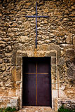 Old church door Royalty Free Stock Image
