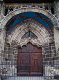 Old church door. In Brasov, Romania Royalty Free Stock Image