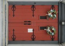 Old Church Door stock image