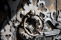 Old church door knocker Stock Photography