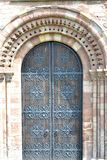 Old church door Stock Images