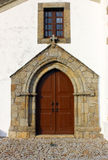 Old church door, Marvao, Portugal Stock Photography