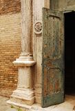 Old Church Door in Murano Royalty Free Stock Photography