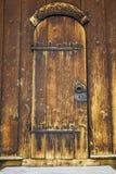 Old church door Royalty Free Stock Photos