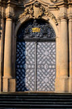 Old church door  - Prague Royalty Free Stock Image