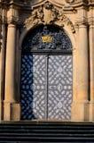 Old church door  - Prague Royalty Free Stock Image