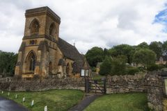 A old church in England. Stock Image