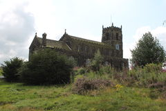 Old church in England. St Michael and All Angels church, England Royalty Free Stock Images