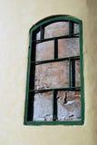 Old church false window. Royalty Free Stock Photos