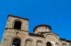 Old church. The old church and fortress - Asenova Krepost (Asenov Fortress Royalty Free Stock Photos