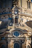 Old church Frauenkirche in Dresden royalty free stock photo