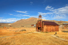 Old church in ghost town Bodie Stock Images