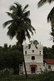 The old church of Goa; India Stock Photo