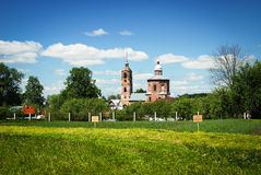 Old church, Golden Ring of Russia Stock Images
