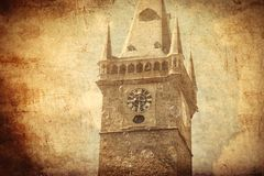Old church in gothic architecture style Royalty Free Stock Image