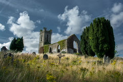 Old Church and Graveyard in Ireland Royalty Free Stock Photo