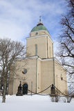 Old Church In Helsinki Stock Photo