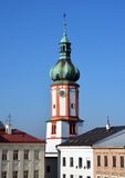 Old church, historical town Stock Image