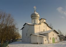 Old Church inPskov Stock Image
