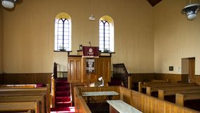 Old Church Interior Stock Image