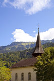 Old Church in Interlaken Royalty Free Stock Photography