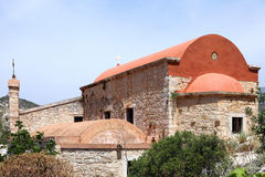 Old church on the island of Kastelorizo Royalty Free Stock Photo