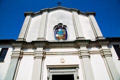 Old church italy europe milan religion and sunlight Stock Photos