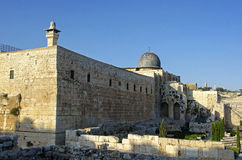 The old church in Jerusalem Stock Photography