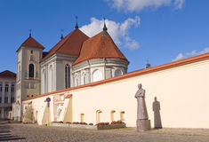 Old church in Kaunas. Stock Photography