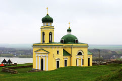 Old church in Khotyn Royalty Free Stock Photography