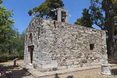 Old church at Kos island in Greece Royalty Free Stock Images