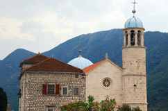 Old church in Kotor bay(Montenegro) Stock Photography