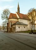 Old church in Krakow royalty free stock photo