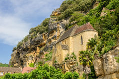 Old church in La Roque Gageac, Dordogne Royalty Free Stock Image